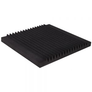 Set of 40 16 Tooth Acoustic Foam - Black