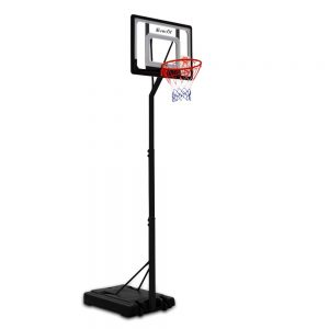 Adjustable Portable Basketball Stand Hoop System Rim