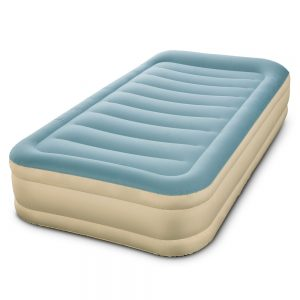 Bestway Single Size Inflatable Air Mattress - Light Blue & Beige