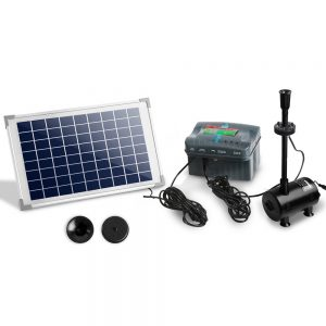 Gardeon 800L/H Submersible Fountain Pump with Solar Panel