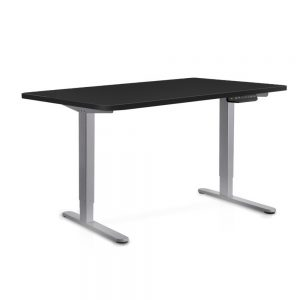 140cm Adjustable Frame Standing Desk - Black