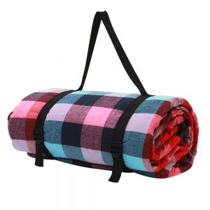 Alfresco 2.5 x 2.5m Picnic Blanket - Multi Colour