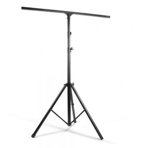 Adjustable T-Bar Lighting Tripod - Black