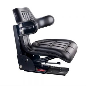 Giantz PU Leather Tractor Seat - Black