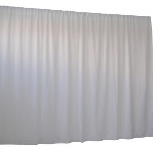 2.8M X 4M White Wedding Drape Backdrop Curtain