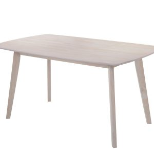 6 Seater Dining Table Solid hardwood White Wash