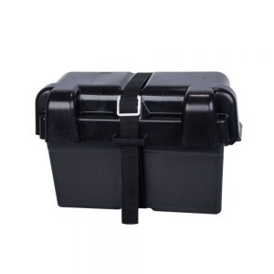 130AH Battery Box AGM Deep Cycle Dual System 12V Large Marine